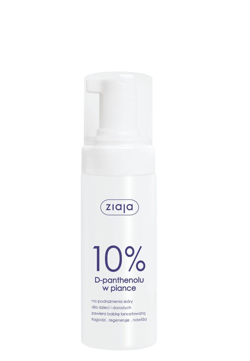 Ziaja 10% D-panthenolu w piance, 150 ml