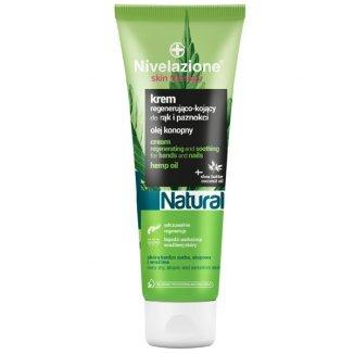 Nivelazione Skin Therapy, krem regenerująco-kojący do rąk i paznokci, olej konopny, 100 ml