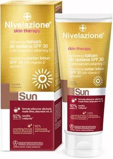 Nivelazione Skin Therapy SUN, odżywczy balsam do opalania SPF30, 200 ml