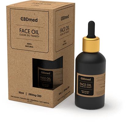 CBDmed, olejek konopny do twarzy, 30 ml