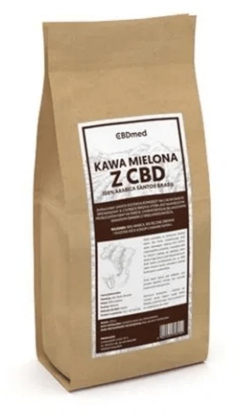 CBDmed, kawa mielona z zielem konopi, 250 g