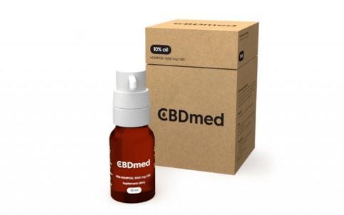 CBDmed, olejek konopny CBD 10%, 10 ml