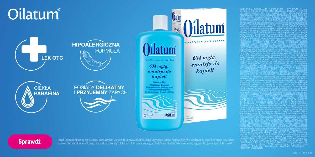 Oilatum, emulsja do kąpieli leczniczych, 500 ml